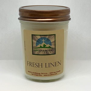 Fresh Linen Soy-Lotion Candle