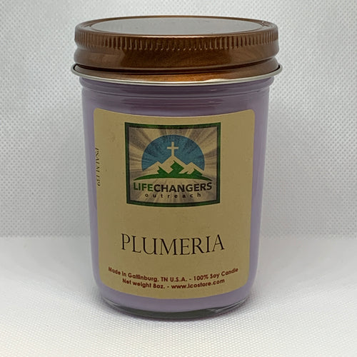 Plumeria Soy-Lotion Candle