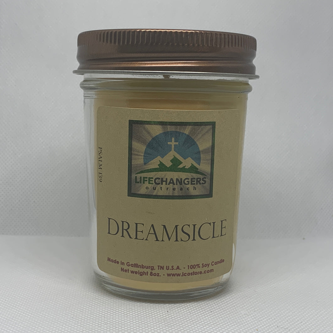 Dreamsicle Soy-Lotion Candle