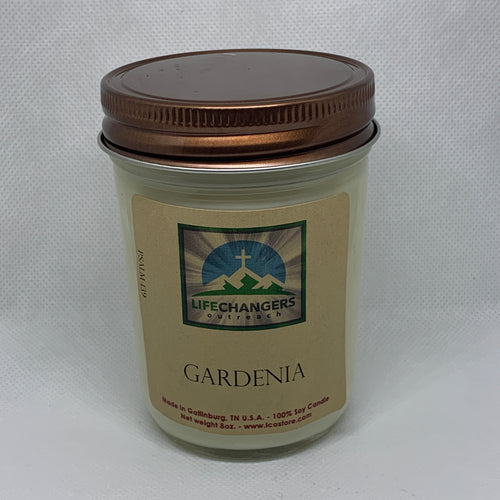Gardenia Soy-Lotion Candle