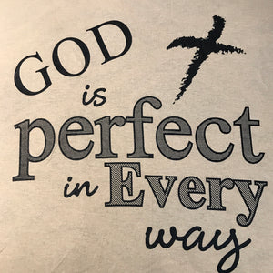 God is Perfect (T-Shirt)