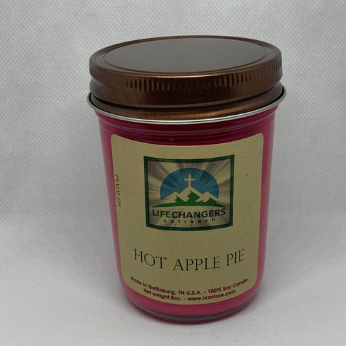 Hot Apple Pie Soy-Lotion Candle