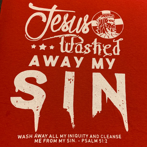 Jesus Washed Away My Sin (T-Shirt)