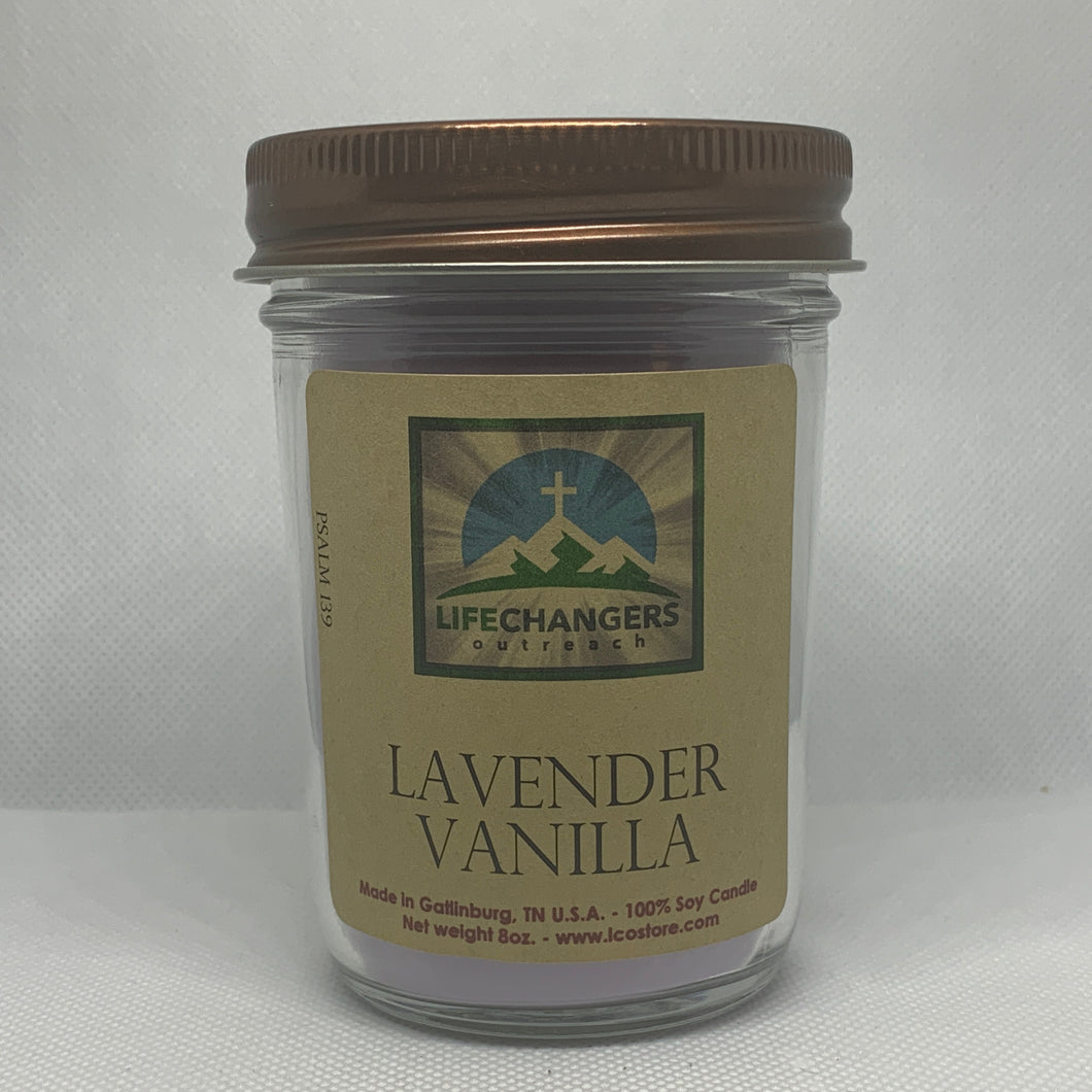 Lavender Vanilla Soy-Lotion Candle