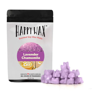 Happy Wax Lavender Chamomile Wax Melts 2oz Pouch