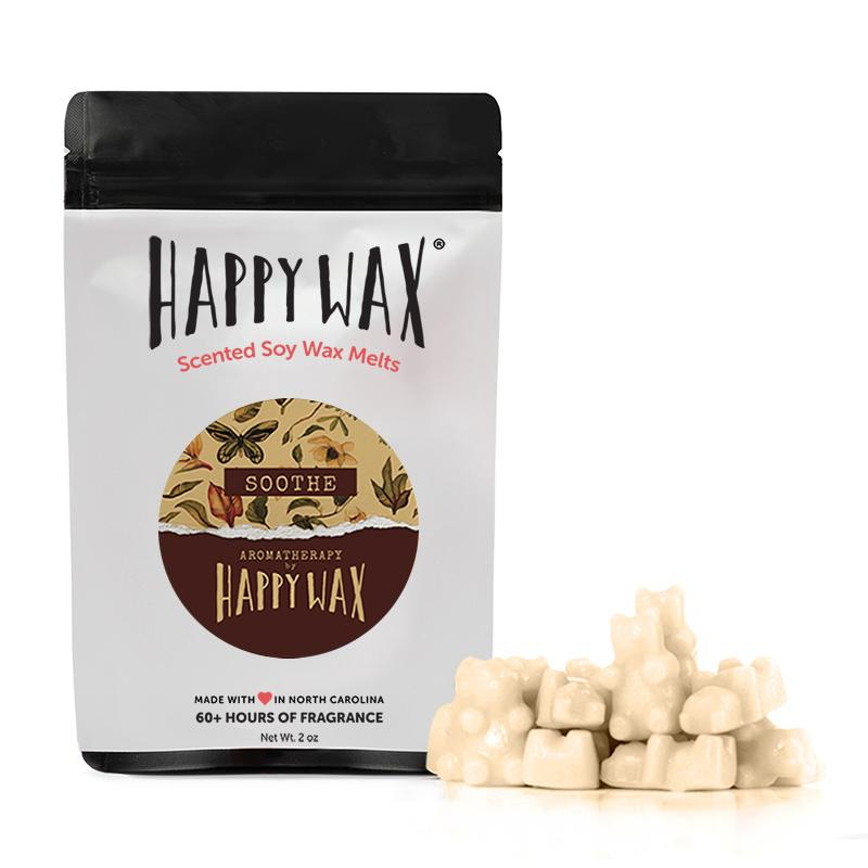 Happy Wax Soothe Wax Melts 2oz Pouch