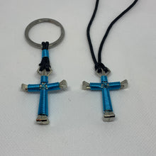 Load image into Gallery viewer, Cross of Nails Necklace and Keychain Combo