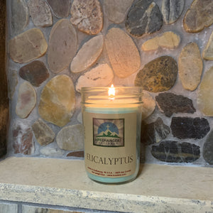 Eucalyptus Soy-Lotion Candle