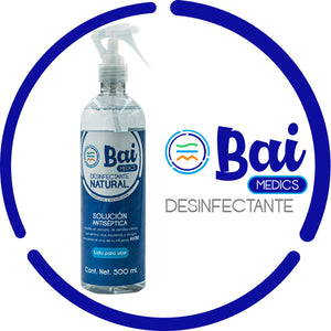 Bai Medics desinfectante natural 500 ml.