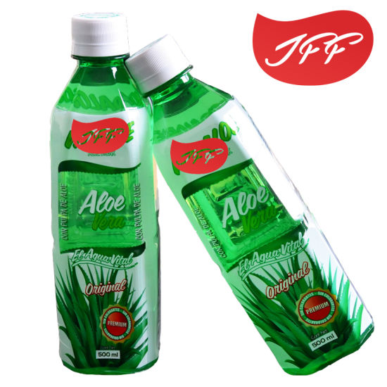 Agua de Aloe Vera - Sabor Natural 500 ml. - The Market Delivery
