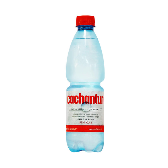Agua Cachantun Sin Gas - Botella 500 ml - The Market Delivery