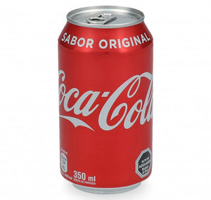 Pack lata Coca-Cola Normal 350 Ml - 6 Unidades - The Market Delivery