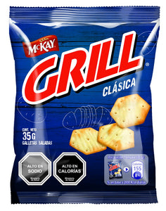 Galleta Salada Grill - 10 Bolsas de 35 Grs. - The Market Delivery