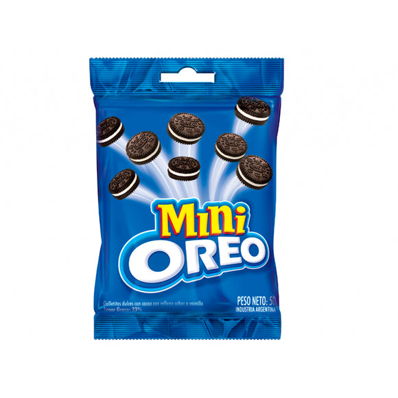 Galletas Mini Oreo - 10 Bolsas de 50 Grs. - The Market Delivery