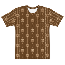 Load image into Gallery viewer, Brown Tiki All-Over-Print T-shirt