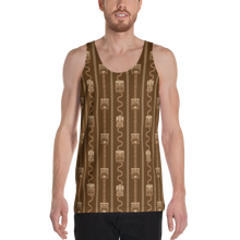 Load image into Gallery viewer, Brown Tiki All Over Print Men's Tank Top
