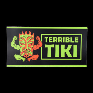 Terrible Tiki Bumper Sticker