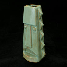 Load image into Gallery viewer, Tall Spiky Tiki Mug, Mossy Green
