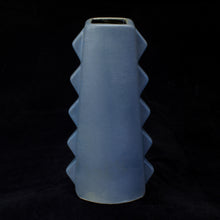 Load image into Gallery viewer, Tall Spiky Tiki Mug, Matte Stormy Blue