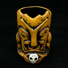 Load image into Gallery viewer, Terrible Tiki Mug, Yellow Spice Wipe Away with Black Interior