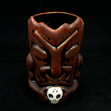 Load image into Gallery viewer, Terrible Tiki Mug, Firey Red with Black Interior