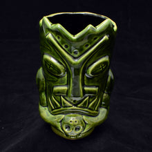 Load image into Gallery viewer, Terrible Tiki Mug, Green with Black