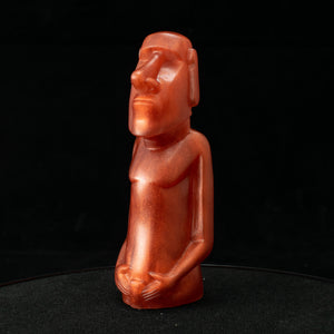 Mini Moai Figure, Super Copper