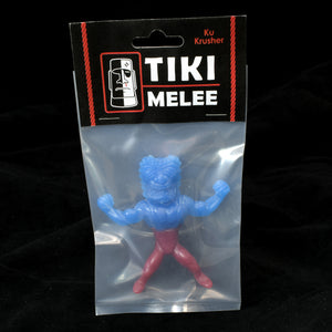 Tiki Melee Ku Krusher One Off Figure, Two Tone