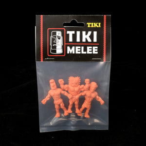 Tiki Melee T.I.K.I. figures One Off, Set of 3, OOMPA LOOMPA