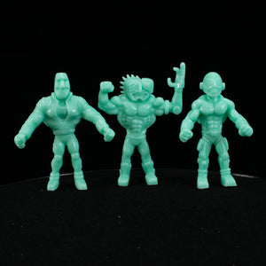 Tiki Melee T.I.K.I. Series 2 figures, Set of 3, Luxury Teal