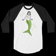 Load image into Gallery viewer, Green Mermaid 3/4 Tee