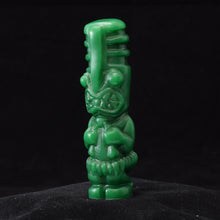 Load image into Gallery viewer, Toothy Tiki Totem Minifigure One Off, Jade Wipe Away