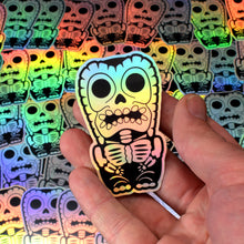 Load image into Gallery viewer, Holographic X-Ray Tiki Sticker