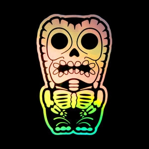 Holographic X-Ray Tiki Sticker