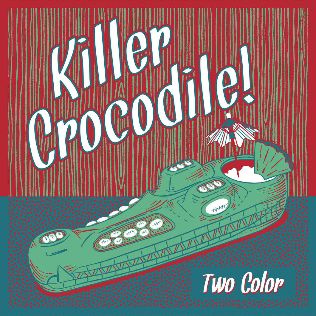 Terrible Tiki Crocodile Mug - Two Color Pre-Order