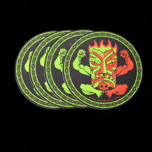 Load image into Gallery viewer, Terrible Tiki Coaster, Set of 4