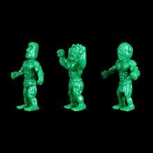 Load image into Gallery viewer, Tiki Melee T.I.K.I. figures, Set of 3, Green color