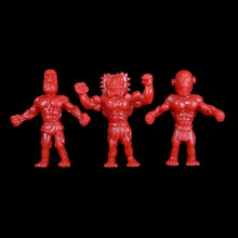 Load image into Gallery viewer, Tiki Melee T.I.K.I. figures, Set of 3, Red Color