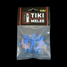Load image into Gallery viewer, Tiki Melee T.I.K.I. figures, Set of 3, Blue color