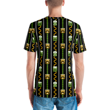 Load image into Gallery viewer, Green and Orange Tiki All-Over-Print T-shirt