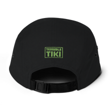 Load image into Gallery viewer, 3 Tiki Camper Style Cap, Black