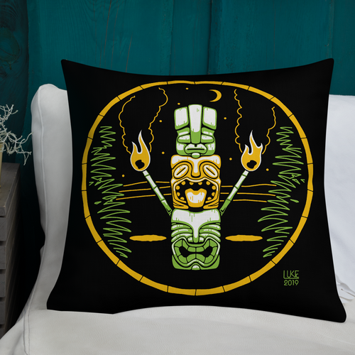 Tiki Stack Pillow