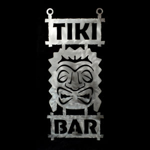 Metal Tiki Bar Sign 3