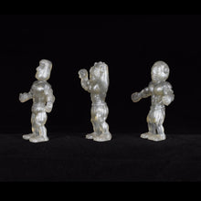 Load image into Gallery viewer, Tiki Melee T.I.K.I. figures One Off, Set of 3, Silver Surfer