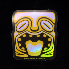 Load image into Gallery viewer, Holographic Tiki Head Sticker