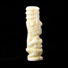 Load image into Gallery viewer, Toothy Tiki Totem Minifigure, Bone Color