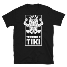 Load image into Gallery viewer, Terrible Tiki Logo Black and White