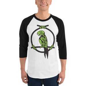 Enchanted Parrot Skeleton 3/4 Tee