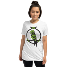 Load image into Gallery viewer, Enchanted Parrot Skeleton White Tee