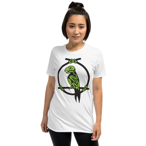 Enchanted Parrot Skeleton White Tee